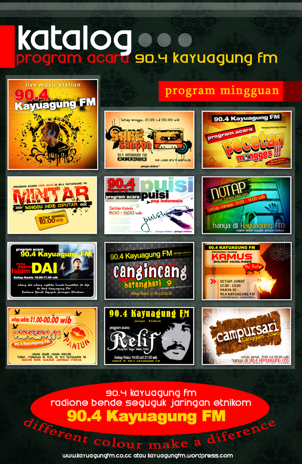 program acara 90.4 kayuagung fm